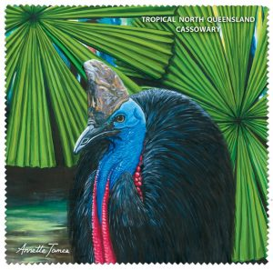 Cassowary Lens Cloth