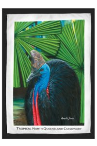 Cassowary Travel / Tea Towel