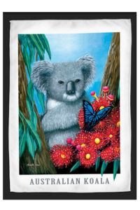 Koala Travel / Tea Towel