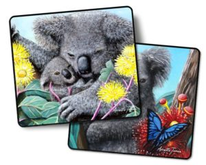 Koala 2 pack drink Coasters #1