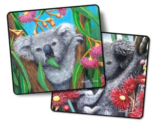 Koala 2 pack Drink Coasters #2