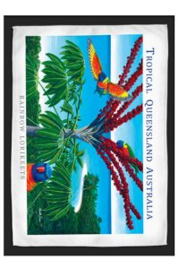Lorikeet Travel & Tea Towel