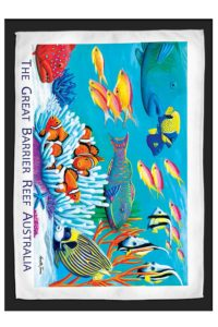 Great Barrier Reef Travel & Tea Towel