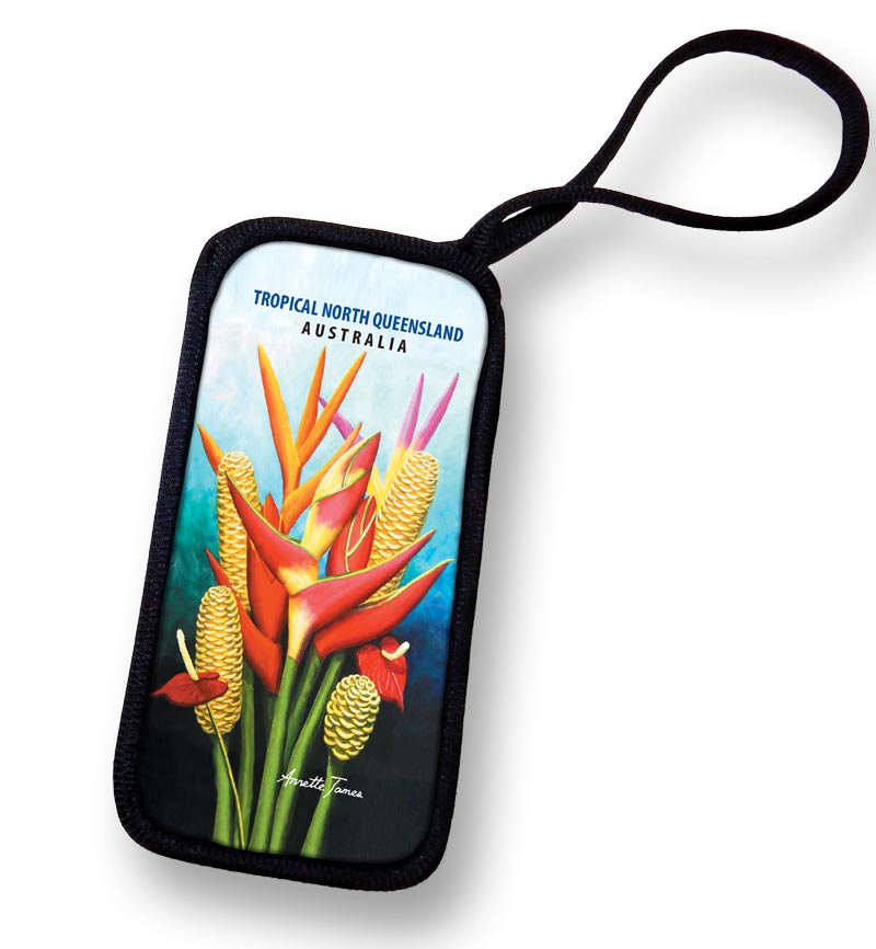Floral Mobile Phone & Glasses Case