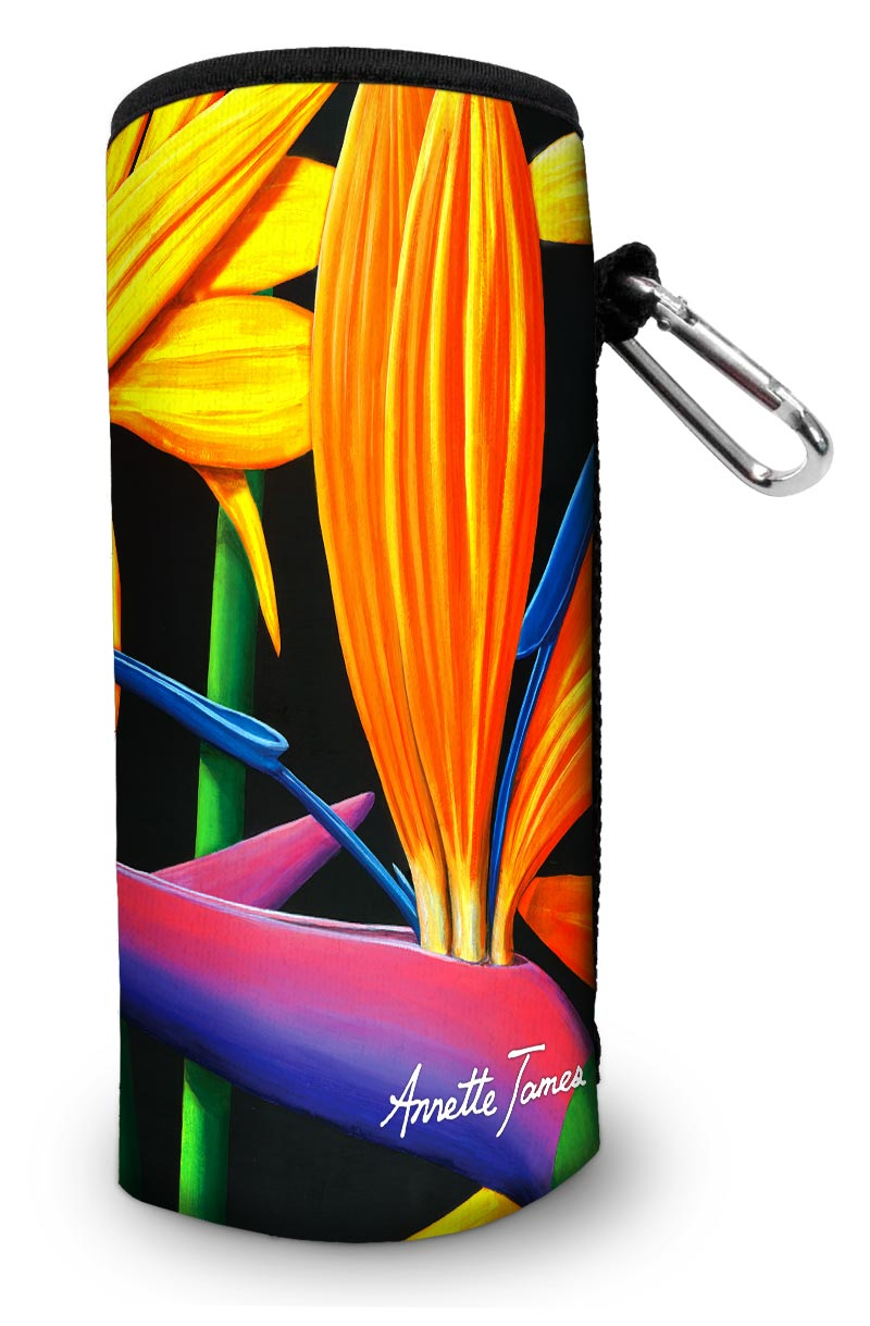 Yellow Flower Water & Wine Bottle Cooler